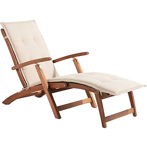 peru wooden deck chair