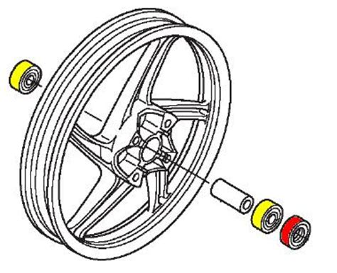 Bearing Laher 6302 xmal motor bengkel sepeda motor kode laher bearing untuk motor honda