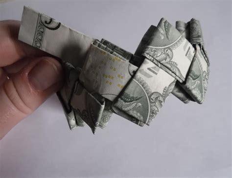 Money Bracelet Origami - dollar origami bracelet
