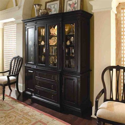 Solid Wood China Cabinet   Home Furniture Design