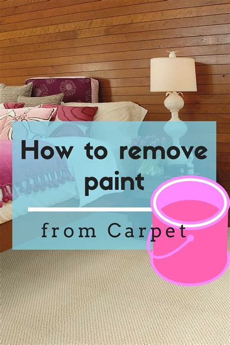 acrylic paint removal from carpet 25 best ideas about remove paint on how to