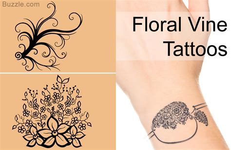 flower vine wrist tattoos strikingly amazing bracelet designs to carry with pride