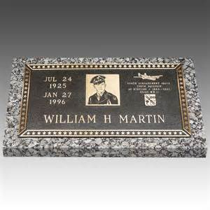 grave markers veteran individual bronze grave marker