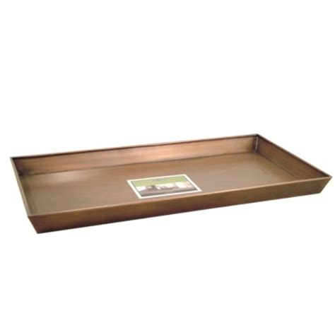 copper boot tray 31x15 2x2 3 quot smith hawken the o