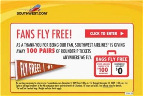 Southwest Giveaway On Facebook - southwest airlines new facebook contest fans fly free with some turbulance to other