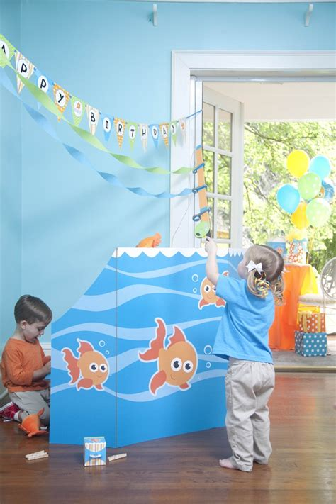 goldfish themes goldfish birthday party ideas kids party