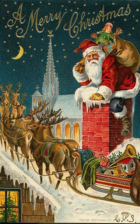 vintage santa claus hot girls wallpaper