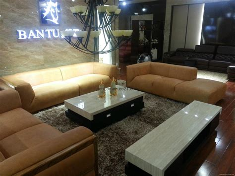 Sofa Hotel classic leather sofa furniture villa hotel reception sofa