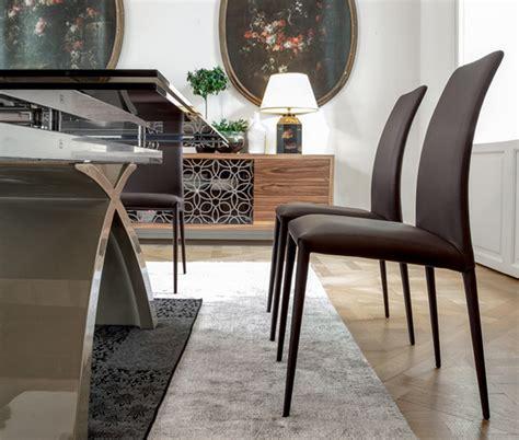 sedie tonin casa sedia imbottita e rivestita charm di tonin in pelle