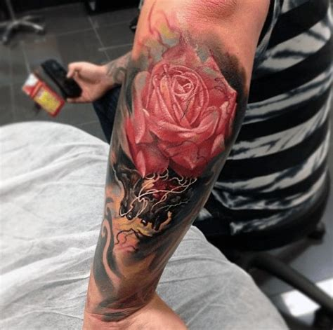 elbow tattoos for guys 41 best lotus images on