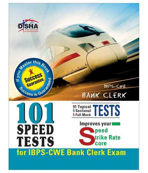 Ank Cwe ibps cwe bank clerk 101 speed tests with success guarantee