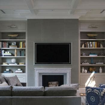 Living Room Paint Color Ideas by Fireplace Bookshelves Design Ideas
