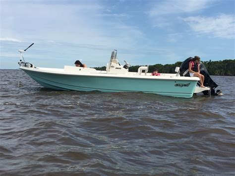 fishing boat gets run over by another boat help on a bay boat the hull truth boating and fishing