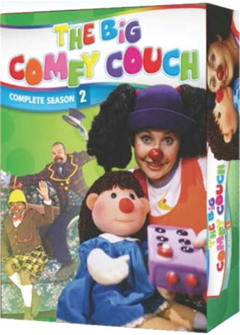 the big comfy couch dvd set the big comfy couch season 2 new sealed 2 dvd set ebay