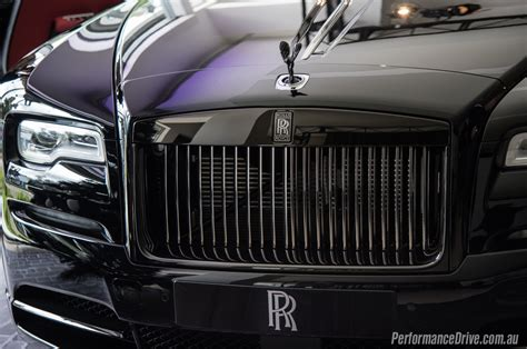 rolls royce black badge rolls royce black badge series lands in australia