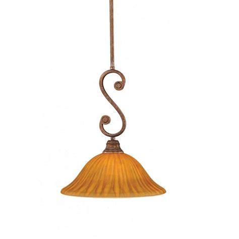 Filament Design Concord 1 Light Bronze Pendant Cli Filament Pendant Lighting