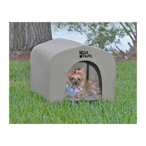 dog house cover the mutthutt dog house small 54x48x48cm ipetstore