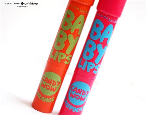 Maybelline Baby Wow Lip Balm Available 5 Color 1 maybelline baby wow raspberry orange review swatches price india bows