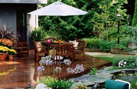 Garden Ideas With Decking 5 Garden Decking Ideas For The Most Pleasant And Relaxing Environment Interior Design Inspiration