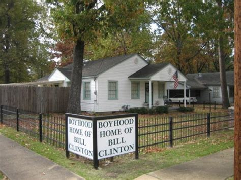 bill clinton house bill clinton boyhood home hope arkansas celebrity home