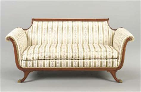 federal style sofa a federal style sofa 19th 20th century christie s