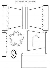 marinuana card template this template to create the flowerpot card