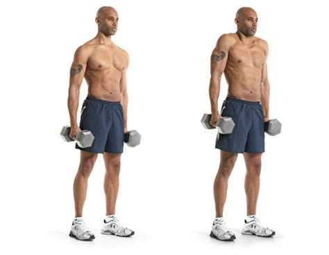 shrugs exercise for a great traps workout weight lifting