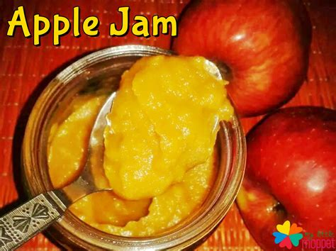 apple jam apple jam recipe for babies toddlers my little moppet