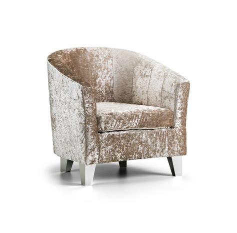 modern crushed velvet tub chair armchair bedroom living room office reception ebay