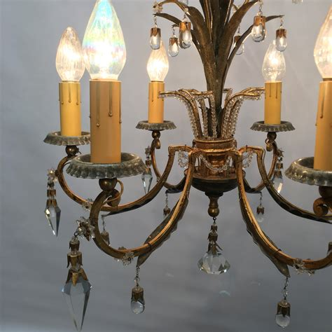 Chandelier With Matching Wall Sconces Chandelier W Two Matching Sconces