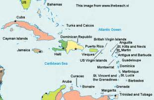 Caribbean Island Map by Gallery For Gt Caribbean Map For Kids
