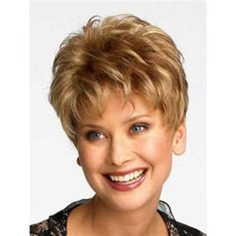 wigs for women over 50 with a round face short style wigs for women over 50 round face short