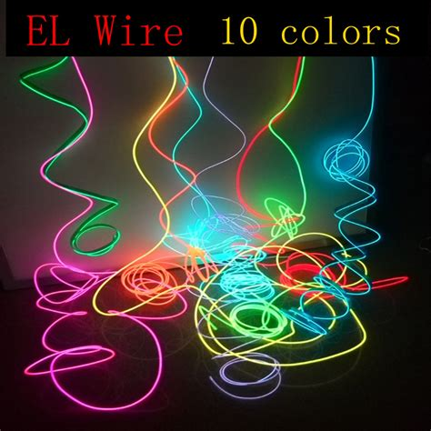 can you join neon rope youtube el wire 1 50meter rope cable diy led string lights neon glow light for
