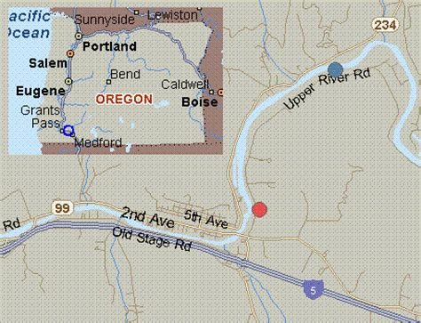 gold hill oregon map map for rogue river oregon white water above nugget