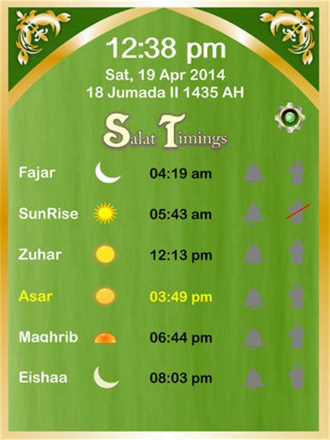 5times everyday muslims prayer times five times a day utilities