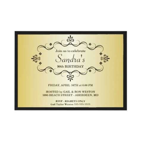 90th birthday invites templates 90th birthday invitation wording ideas new ideas