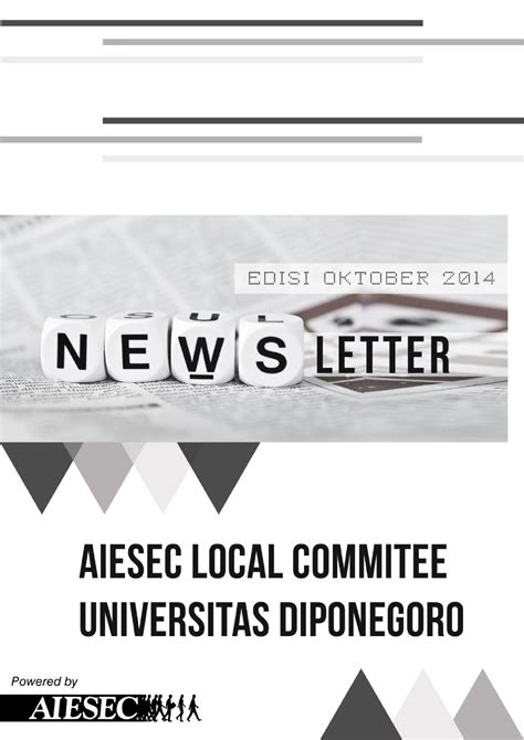 lc success smore newsletters for 4th edition newsletter aiesec lc undip by aiesec in