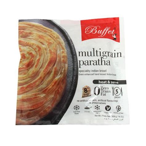 buffet heat l buffet heat serve multigrain paratha 8 grain enriched