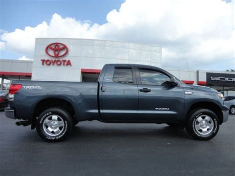 Toyota Tundra Sr5 Package Find Used 2008 Toyota Tundra Cab Trd Road 4x4