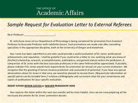 Appeal Letter Promotion Department Heads Office Managers Staff Revised Jan 2014