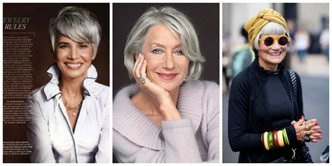 looking with grey hair is granny hair really the 1 hair trend right now the