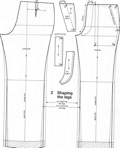 pattern drafting of short pants cosplay making basics part 4 trousers patterns geek ireland