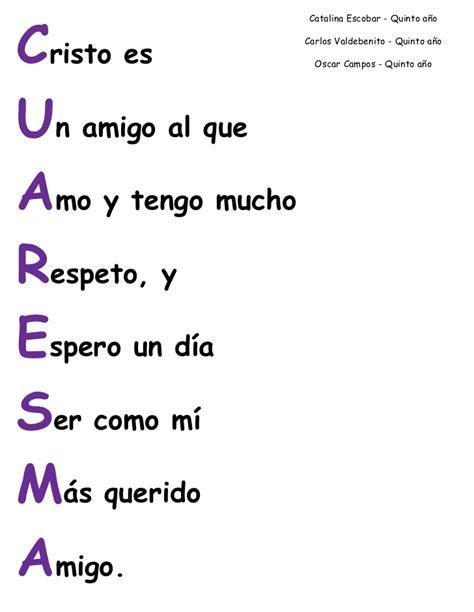 acrostico de la palabra en ingles espanol 4 acrostico completo