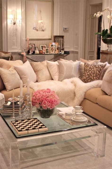 cozy home interior is both eco and glam cozy glam living room home pinterest glam living