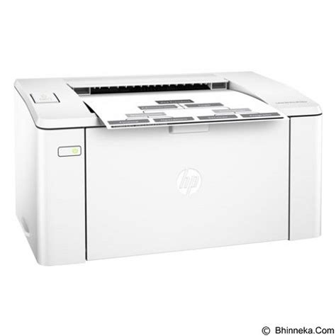 Printer Hp Laserjet Pro M102a Monochrome G3q34a Resmi jual hp laserjet pro m102a g3q34a printer bisnis laser