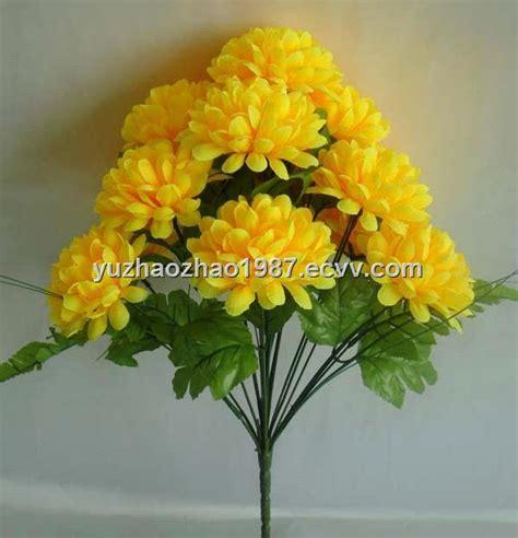 Light Vacuum Cleaner Artificial Flowers Yellow Chrysanthemum Purchasing