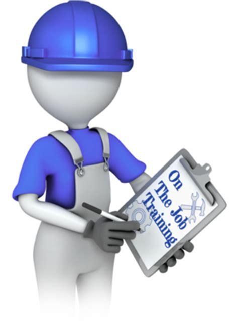 on the job training clipart ojt