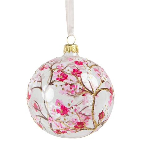for ornaments cherry blossom glass ornament national gallery of