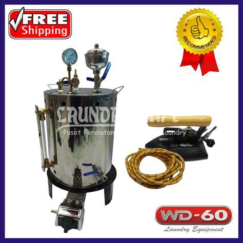 Setrika Uap Boiler Gas Quriomoto setrika uap wd 60 25 liter laundry mart indonesia