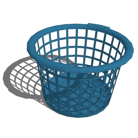 Laundry Basket Set A 3D Model   FormFonts 3D Models & Textures